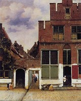 The Little Street by Jan Vermeer