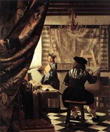 The Art of Painting: An Allegory by Jan Vermeer