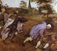 The Parable of the Blind Leading the Blind by Pieter Bruegel the Elder