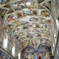 Genesis Fresco by Michelangelo