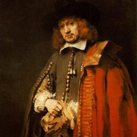Portrait of Jan Six by Rembrandt
