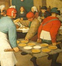 The Peasant Wedding by Pieter Bruegel the Elder