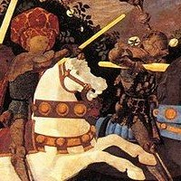 Battle of San Romano by Paolo Uccello